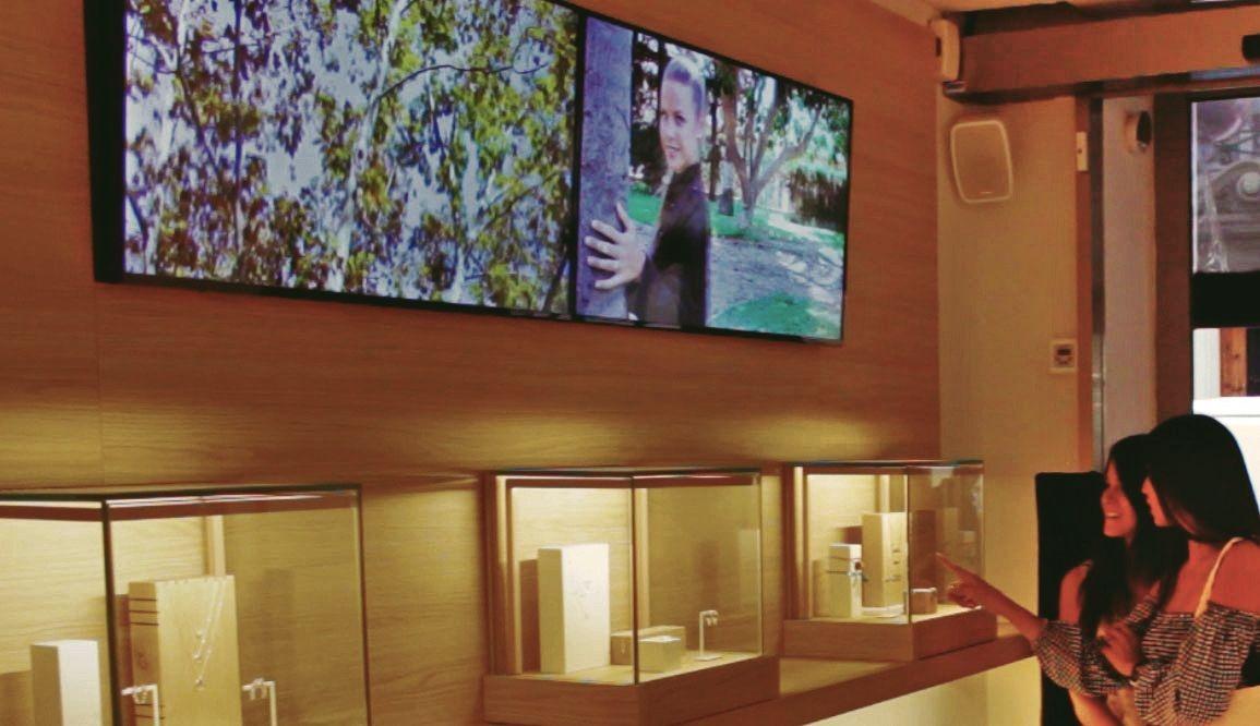 Detalle Videowall Samsung